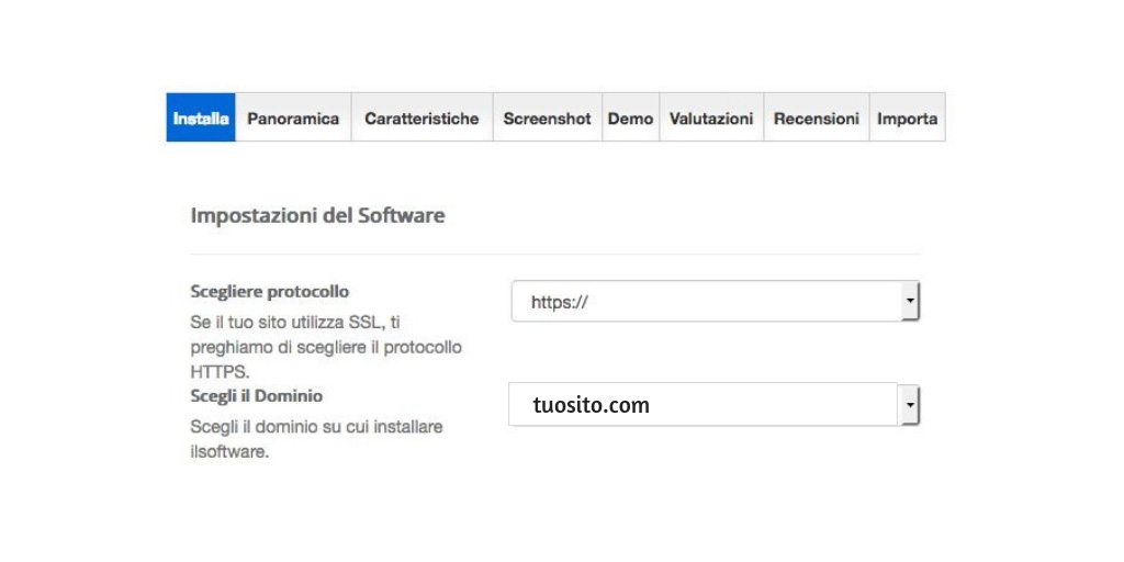 installare wordpress step 6